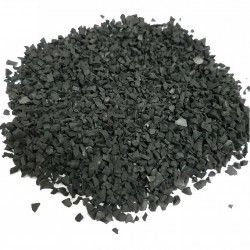 PIECES CAOUTCHOUC SAC 25KG GRANULES CALIBRAGE 0-0,5MM VE