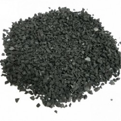 PIECES CAOUTCHOUC SAC 25KG GRANULES CALIBRAGE 0-0,8MM VE