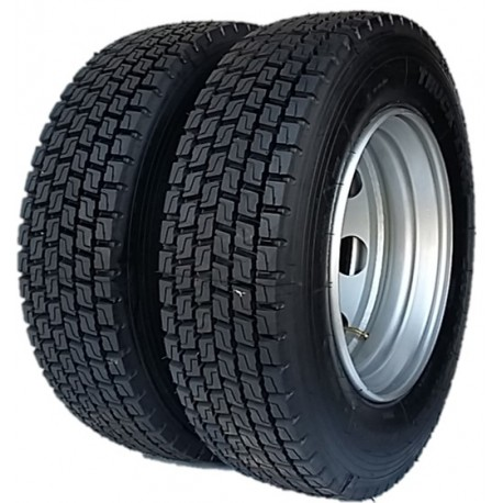 ROUE REMANUFACTUREE AGRICOLE 235/75R17,5 8 TROUS